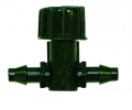 NETAFIM Ventil für Mikroleitungen beidseits Steckanschluss 3 mm