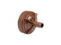 Leitungspülventil 17mm Anschluss 17mm  für Tropfrohr 16 mm