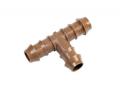 Steckverbinder für Tropfrohre, T-Stück 16x16x16 mm