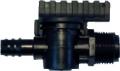 Absperrventil für Leitungen 20 mm, 20 x 3/4 AG