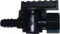 Absperrventil für Leitungen 16/17 mm, 16 x 3/4 IG