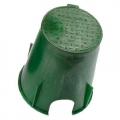 Ventilbox HDPE rund, Typ VB-708