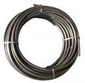 weich PE- Rohr Ringware aussen 25 mm, 4 bar, Rolle a 100 m, Farbe schwarz