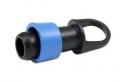 Verbinder Ring blau Tape 16 Endverschluss